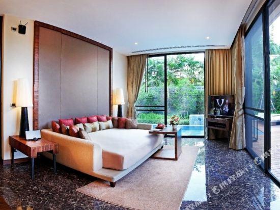 美憬閣索菲特華欣V別墅酒店(V Villas Hua Hin - MGallery by Sofitel)一卧室泳池套房