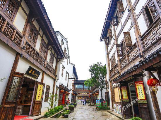 溧陽天目湖南山竹海客棧(御水温泉精品酒店)(Nanshan Zhuhai Inn)眺望遠景