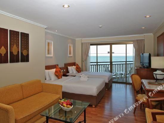 皇家華欣海灘度假酒店(The Imperial Hua Hin Beach Resort)豪華海景房帶陽台(帶陽台)