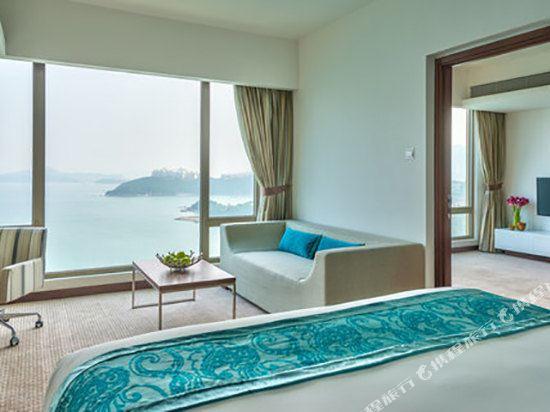 香港愉景灣酒店(Auberge Discovery Bay Hong Kong)海景雙卧室套房