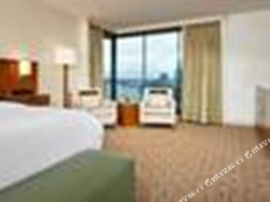 海柏温哥華威斯汀酒店(The Westin Bayshore Vancouver)尊貴灣景雙人床房