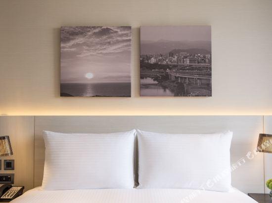 台北豪景大酒店-新館(New Riverview Suites Taipei)市景雙人房