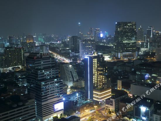 曼谷安曼納酒店(Amara Bangkok Hotel)眺望遠景