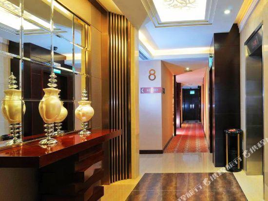 京都酒店(Metropole Hotel Macau)走廊