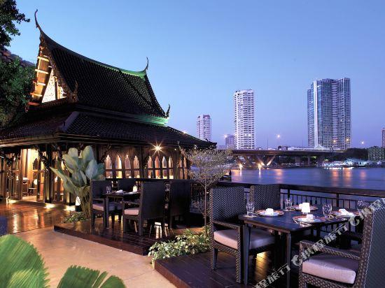 曼谷香格里拉大酒店(Shangri-La Hotel Bangkok)眺望遠景