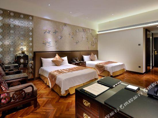 台北圓山大飯店(The Grand Hotel)高級客房雙人房031