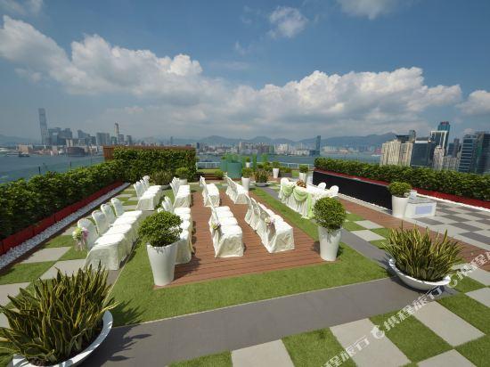 香港柏寧鉑爾曼酒店(The Park Lane Hong Kong a Pullman Hotel)眺望遠景