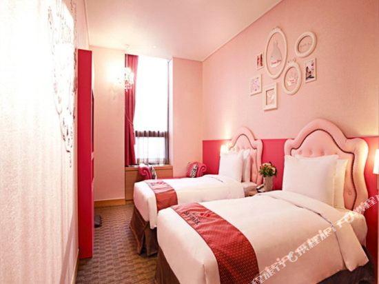 首爾天空花園酒店明洞中心店(Hotel Skypark Central Myeongdong Seoul)公主雙床房