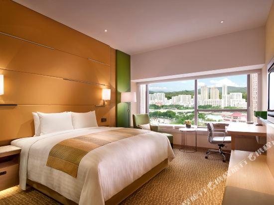 香港沙田萬怡酒店(Courtyard by Marriott Hong Kong Sha Tin)行政樓層客房