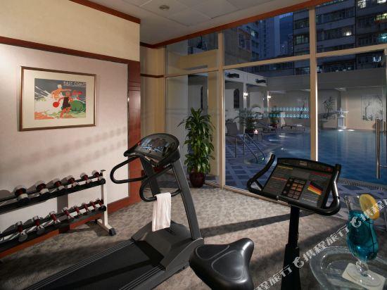 香港港島太平洋酒店(Island Pacific Hotel)健身房
