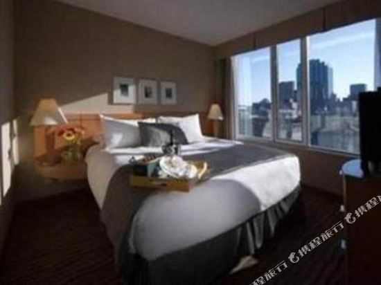 温哥華市中心萬豪德爾塔酒店(Delta Hotels by Marriott Vancouver Downtown Suites)豪華大號床套房
