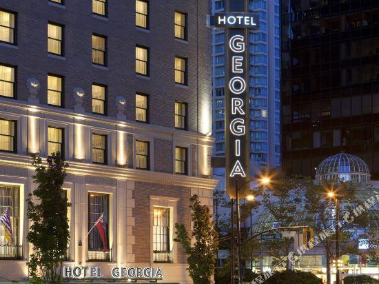 温哥華瑰麗酒店(Rosewood Hotel Georgia)外觀