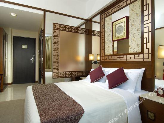 香港蘭桂坊(九如坊)(酒店)(Lan Kwai Fong Hotel Kau U Fong)相連市景房