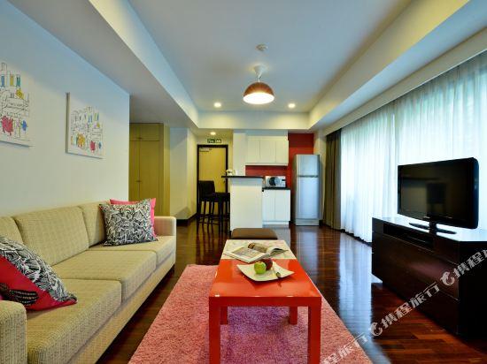 曼谷璀璨服務公寓酒店(Abloom Exclusive Serviced Apartment Bangkok)一居室尊貴套房