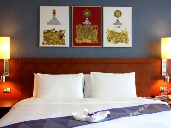 曼谷素萬那普機場諾富特酒店(Novotel Bangkok Suvarnabhumi Airport)豪華行政雙床客房