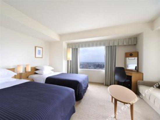 札幌艾米西亞酒店(Hotel Emisia Sapporo)高樓層轉角雙床房