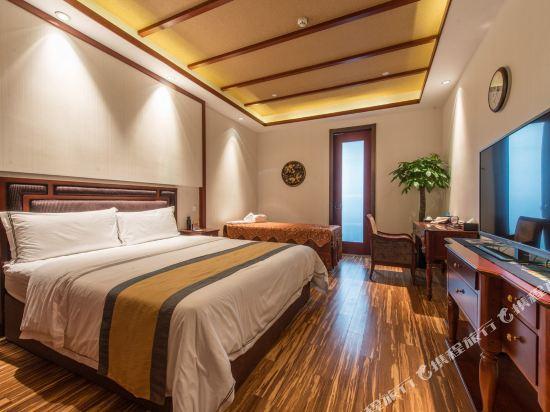 溧陽涵田度假村酒店(Hentique Resort & Spa)温泉大床房