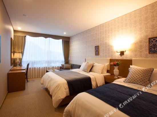 首爾明洞洛伊斯酒店(Loisir Hotel Seoul Myeongdong)豪華雙床房 (3)