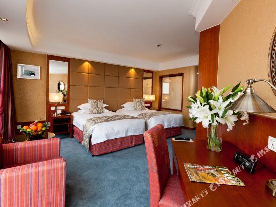 杭州馬可波羅濱湖酒店(Merchant Marco Edgelake Hotel)湖景雙床房