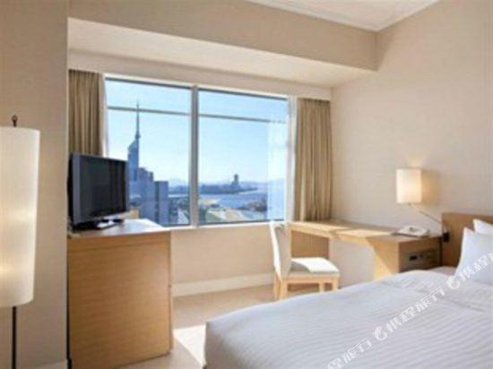 福岡海鷹希爾頓酒店(Hilton Fukuoka Sea Hawk)希爾頓單人客房