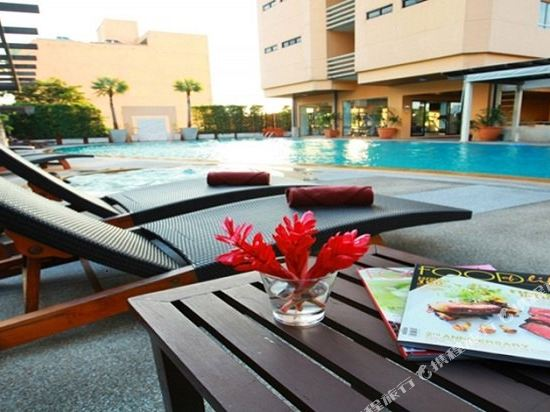 璀璨專享服務公寓(Abloom Exclusive Serviced Apartments)室外游泳池