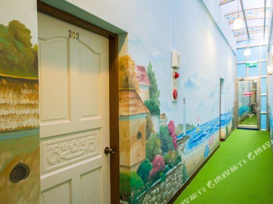 墾丁春品渡假民宿(Spring Hostelry)走廊