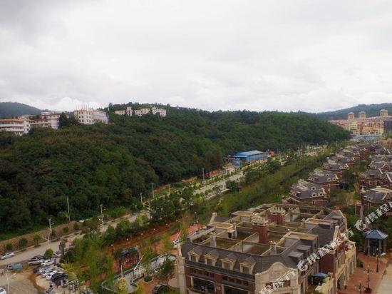 昆明花之城豪生國際大酒店(蘭花苑)(Howard Johnson Flower City Hotel Kunming (Lanhua Yuan))眺望遠景