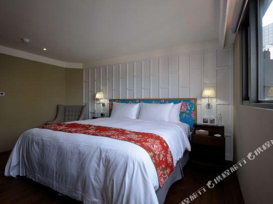 台中紅點文旅(RedDot Hotel)豐盈滿出來