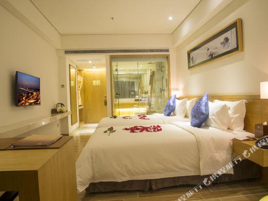 天和酒店(深圳機場T3航站樓店)(Tianhe Hotel (Shenzhen Airport Terminal 3))豪華雙床房