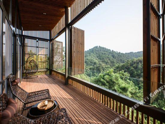 溧陽美岕山野温泉度假村(Meijie Mountain Hotspring Resort)四居室別墅