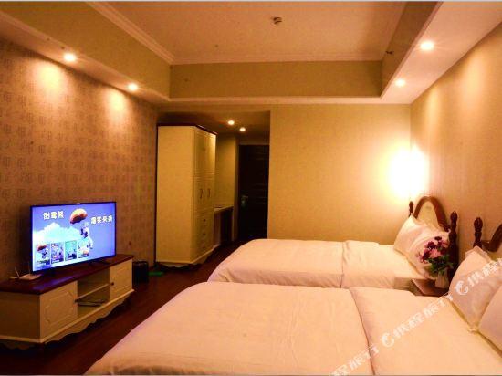 星倫萬達廣場主題公寓(廣州長隆店)地中海式親子大床房