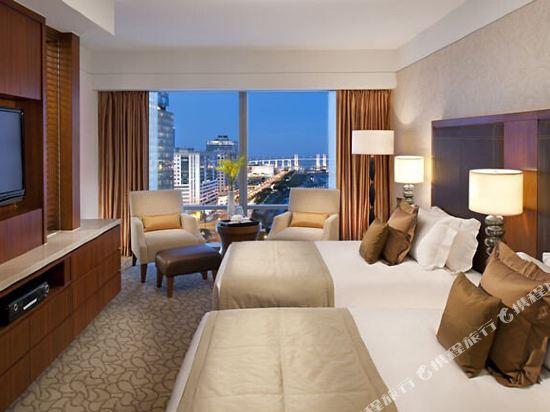 澳門文華東方酒店(Mandarin Oriental Macau)豪華灣海三人房