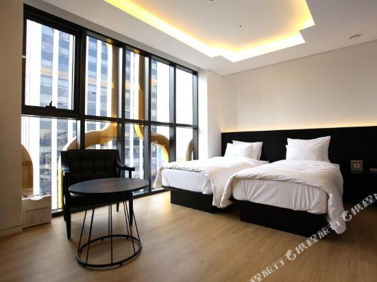 首爾設計者酒店東大門店(Hotel the Designers Dongdaemun Seoul)豪華雙床房