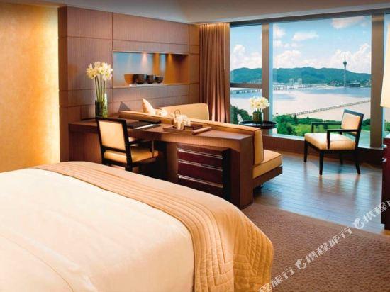 澳門新濠鋒酒店(Altira Macau)澳門海景客房(大床)