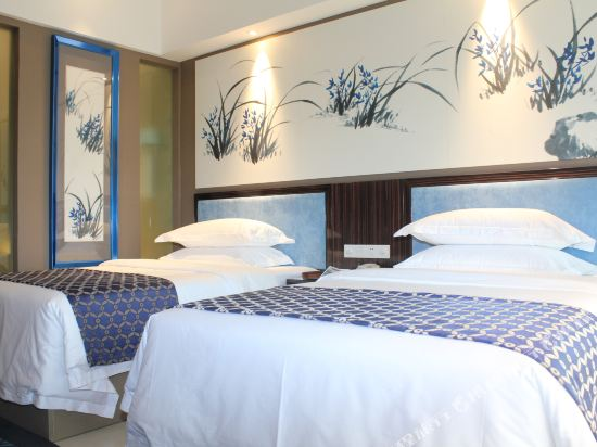 昆明花之城豪生國際大酒店(蘭花苑)(Howard Johnson Flower City Hotel Kunming (Lanhua Yuan))高級標準間