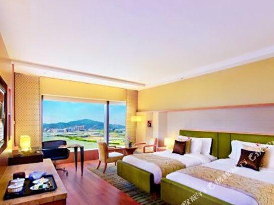 澳門大倉酒店(Hotel Okura Macau)豪華三人房