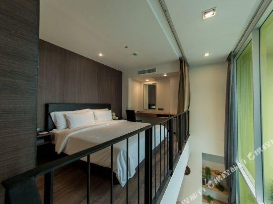 曼谷利特公寓(LiT BANGKOK Residence)一卧室複式套房