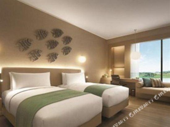 新山香格里拉公主港今旅酒店(Hotel Jen Puteri Harbour Johor Bahru by Shangri-La)尊貴房