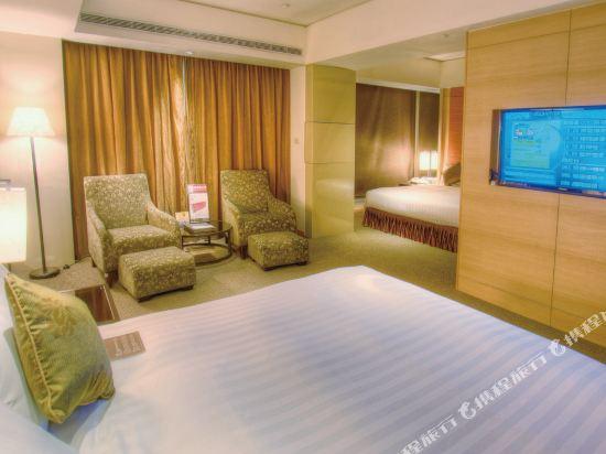 台中烏日清新温泉飯店(Freshfields)精緻套房雙床房