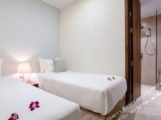 樂卡爾特峴港海灘酒店(A La Carte Da Nang Beach)喜悅海景套房