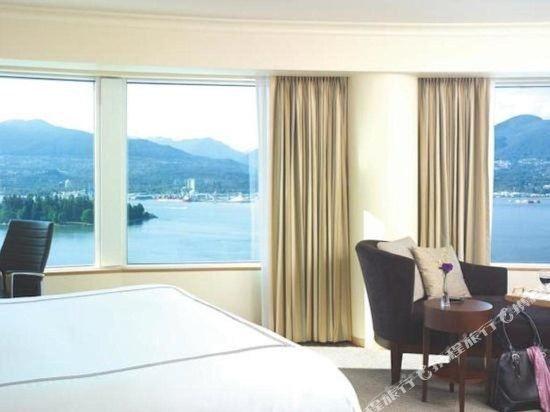 温哥華泛太平洋酒店(Pan Pacific Vancouver)房間