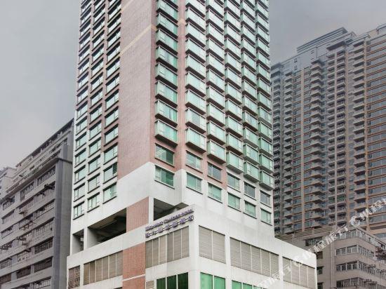 香港西九龍絲麗酒店(Silka West Kowloon Hotel)外觀