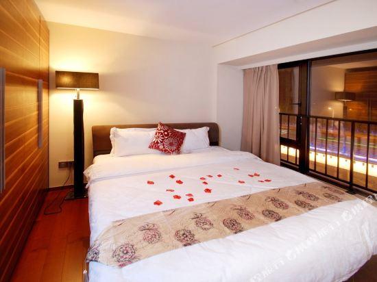 廣州臨江上品維福頓公寓(琶洲會展中心店)(Linjiang Shangpin Weifudun Apartment (Pazhou Complex))豪華一房一廳