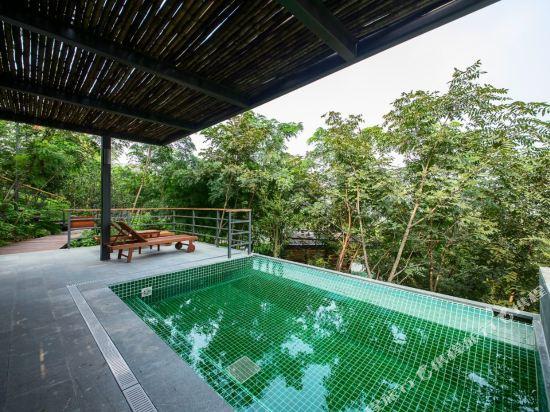 溧陽美岕山野温泉度假村(Meijie Mountain Hotspring Resort)室外游泳池