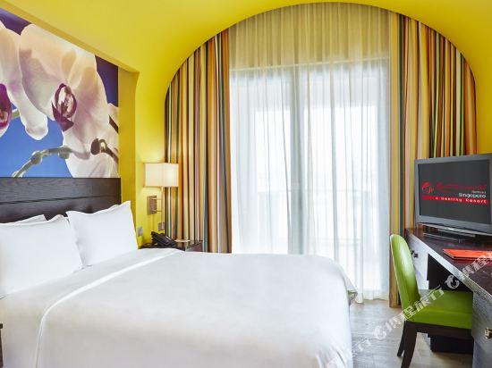 新加坡聖淘沙名勝世界節慶酒店(Resorts World Sentosa-Festive Hotel Singapore)豪華房