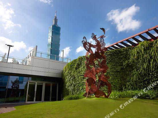 台北寒舍艾麗酒店(Humble House Taipei)院子