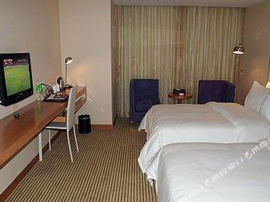 中山平謙精品酒店(Plainvim Boutique Hotel)豪華雙床房