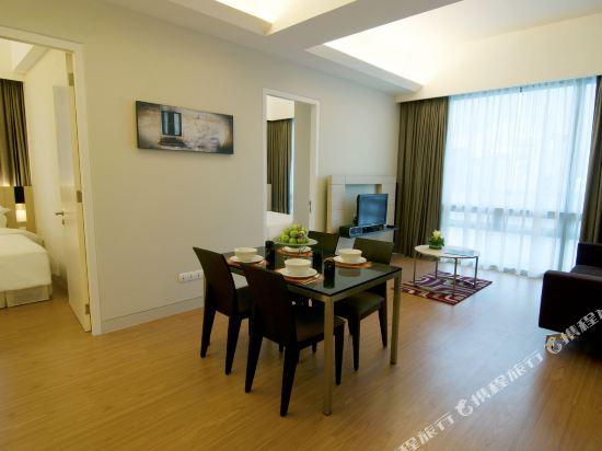 吉隆坡瑞園公寓(Swiss Garden Residences Kuala Lumpur)二居室套房