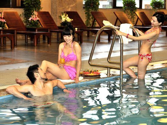 溧陽天目湖御水温泉度假酒店(Yu Shui Hot Spring Hotel)室內游泳池