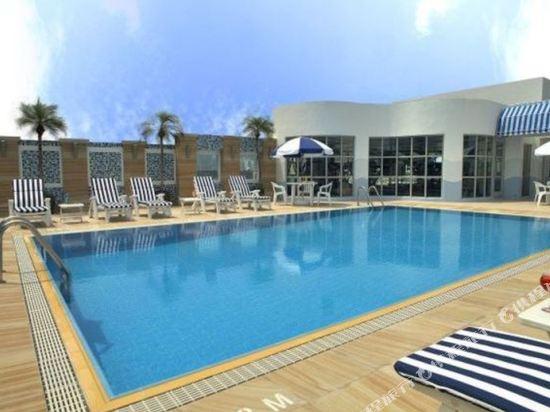 香港九龍維景酒店(Metropark Hotel Kowloon)室外游泳池